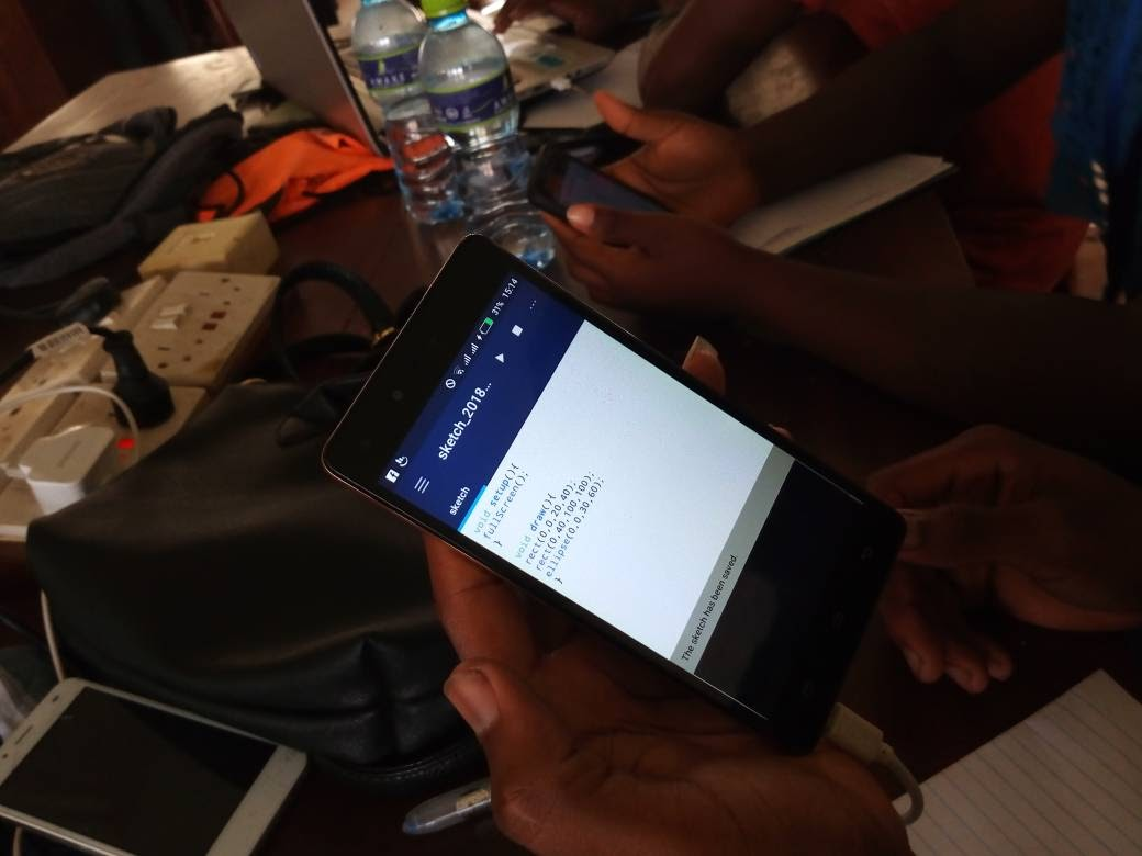 SuaCode: Breaking the Coding Barrier in Africa with Smartphones