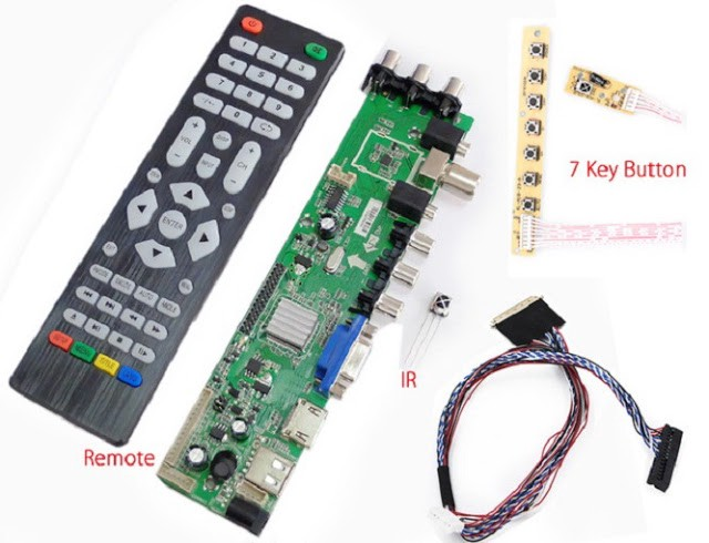 Z VST V59 B Universal LED TV Board Software Download All