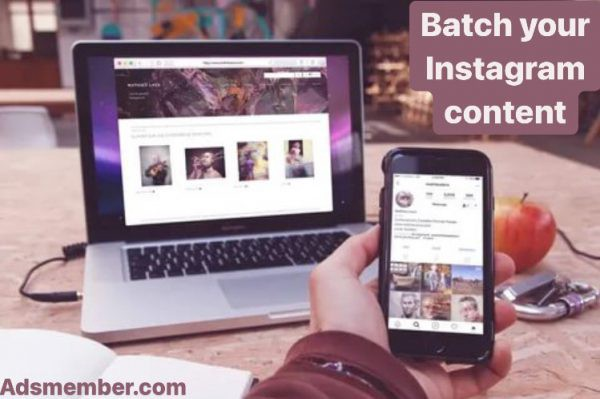How to batch your Instagram content to save time?✔️ | Adsmember