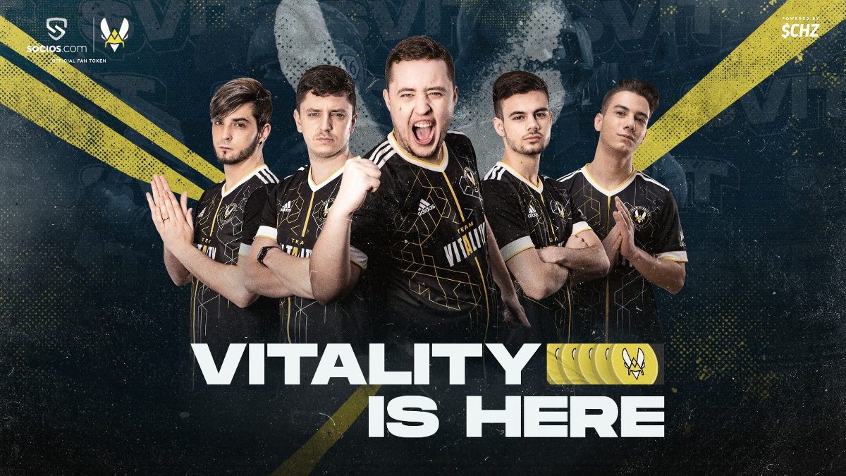 FRENCH ESPORTS GIANTS TEAM VITALITY SET FOR GLOBAL EXPANSION WITH SOCIOS.COM