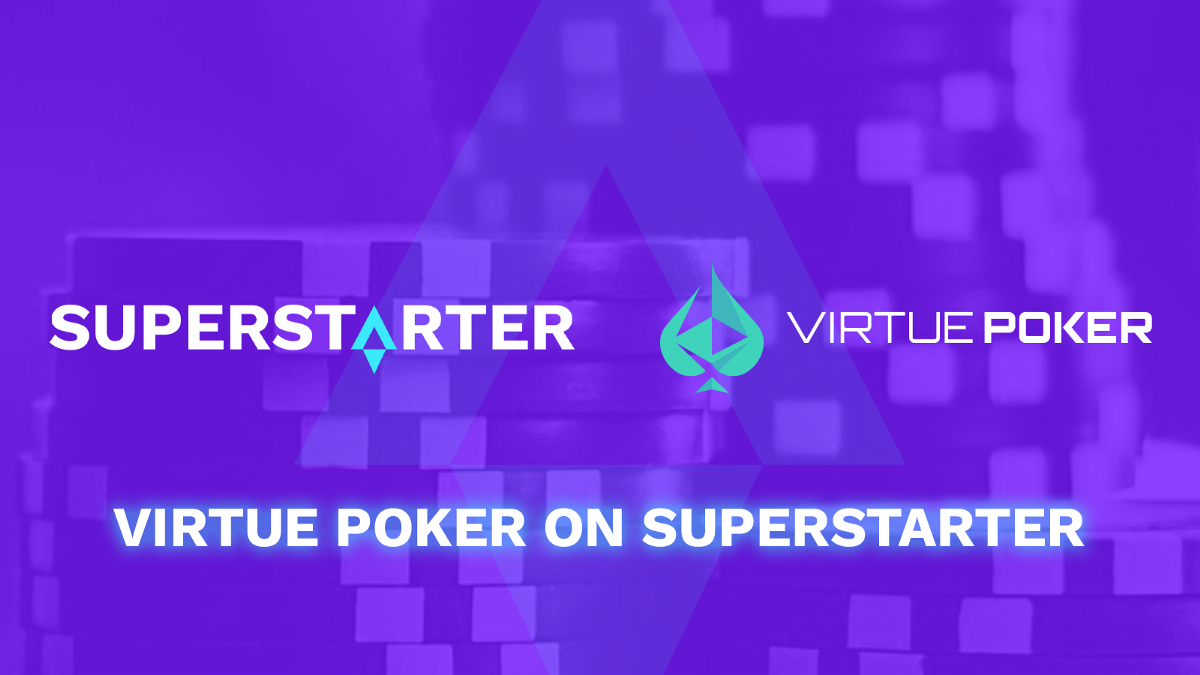 Announcing the Next Project Launching on SuperStarter: Virtue Poker