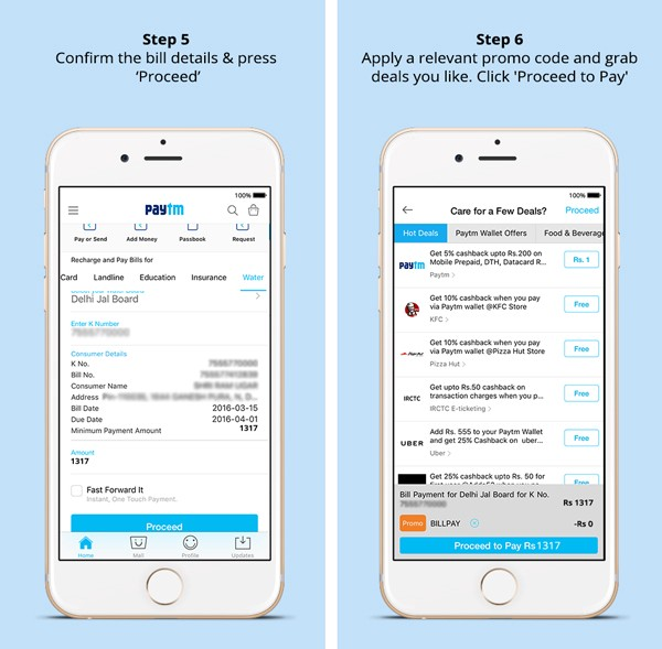 mobile bill payment by paytm