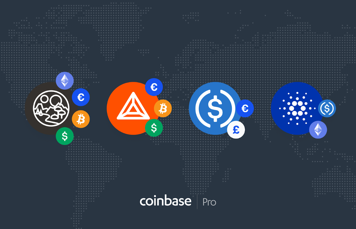 Coinbase Pro to support additional order books - The Coinbase Blog