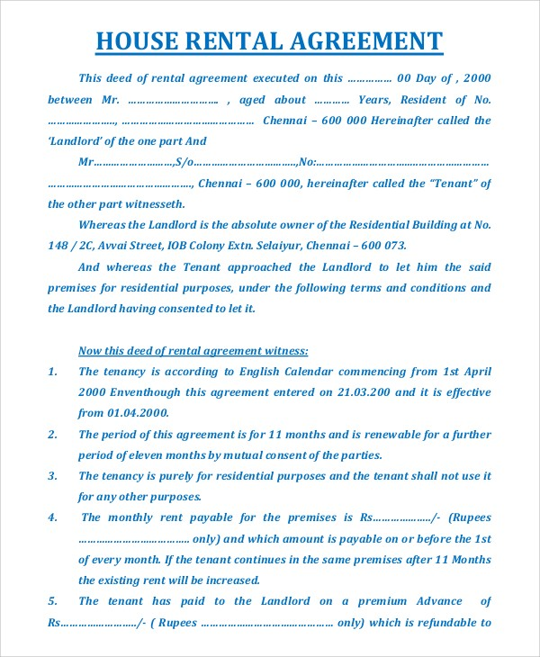 Everything You Need To Know About Rental Agreement And Its Format By Imperia Structures Ltd Medium