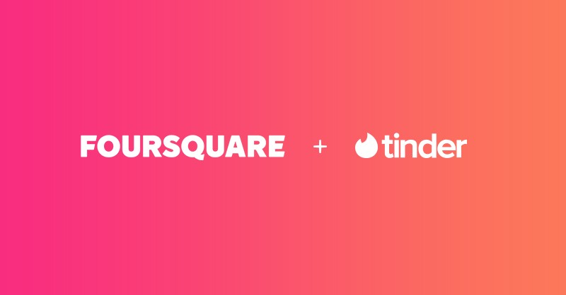Foursquare Invents the Future of Dating with Tinder