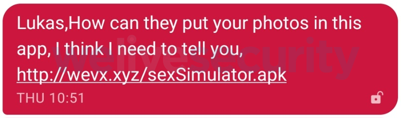 Don't try the Sex Simulator app