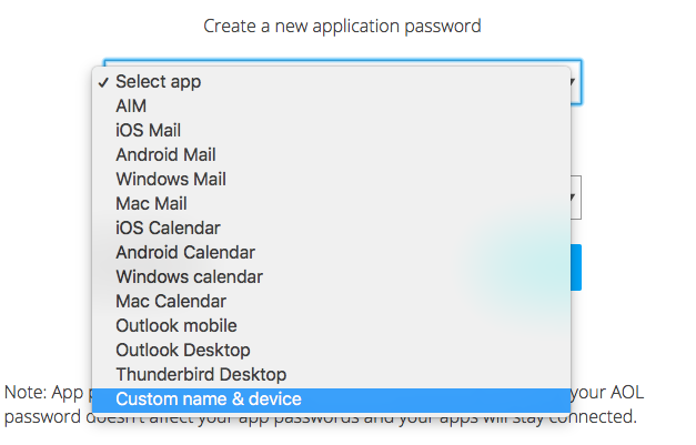 Enable two-factor authentication and app specific passwords