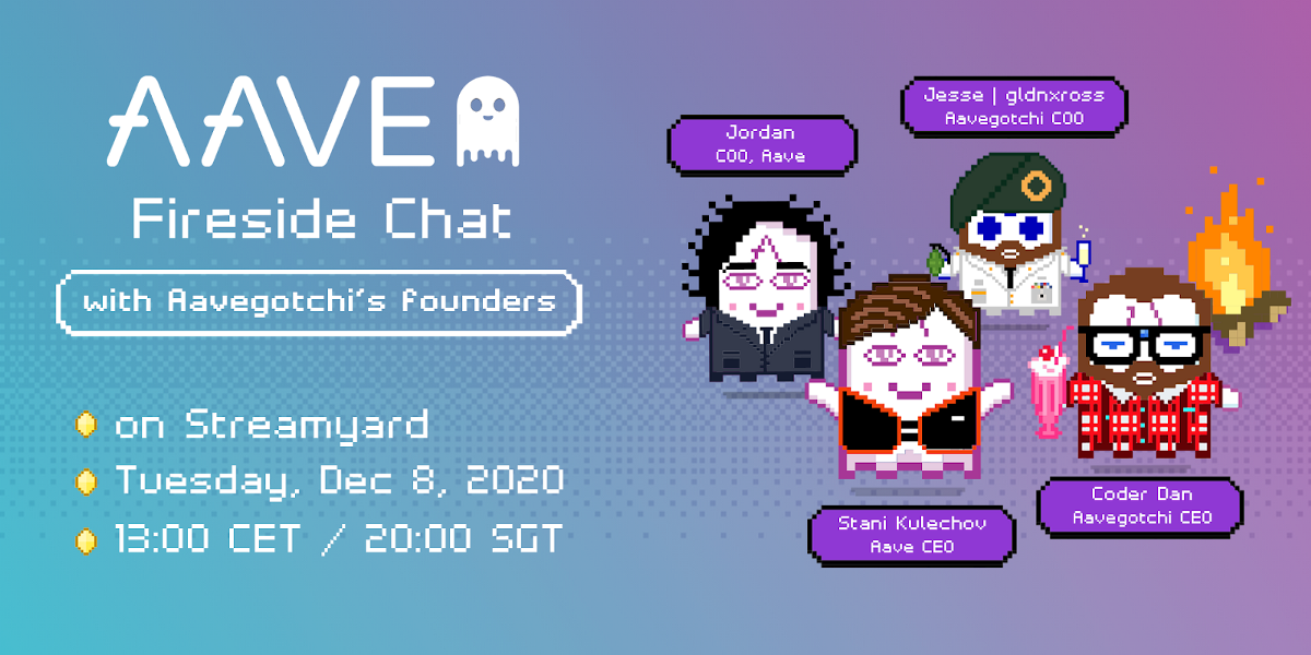 An Aave Campfire Chat with Aavegotchi's Founders