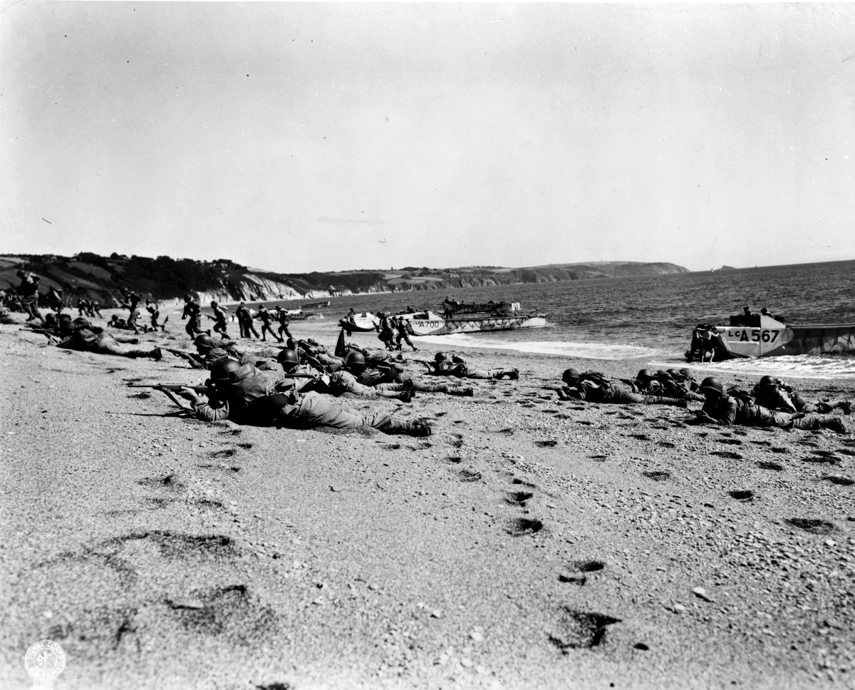 D day rehearsal which killed 600 soldiers