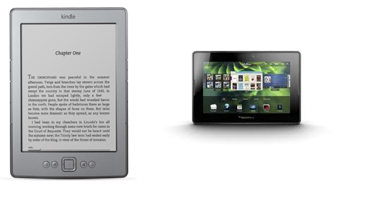 Convert your BlackBerry PlayBook to Kindle Reader - Romin Irani's Blog