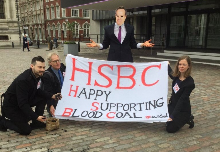 HSBC: Confused about coal, dismissive of human rights