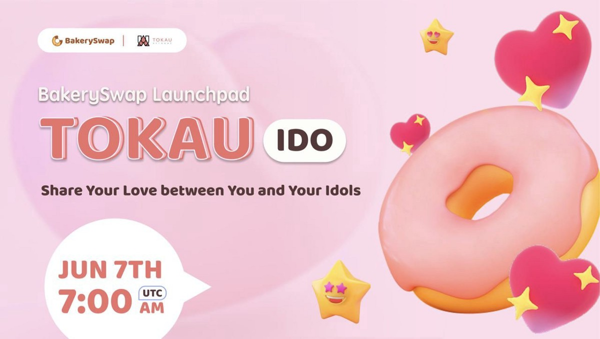 TOKAU IDO is Coming! The distance between you and your idol is only one NFT!