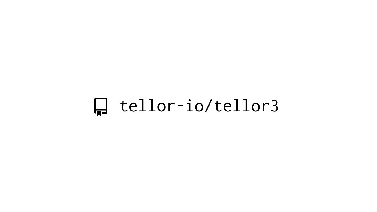 Tellor3 Upgrade is Live!
