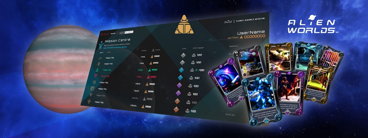 Sneak Preview: Planet Binance Missions Game