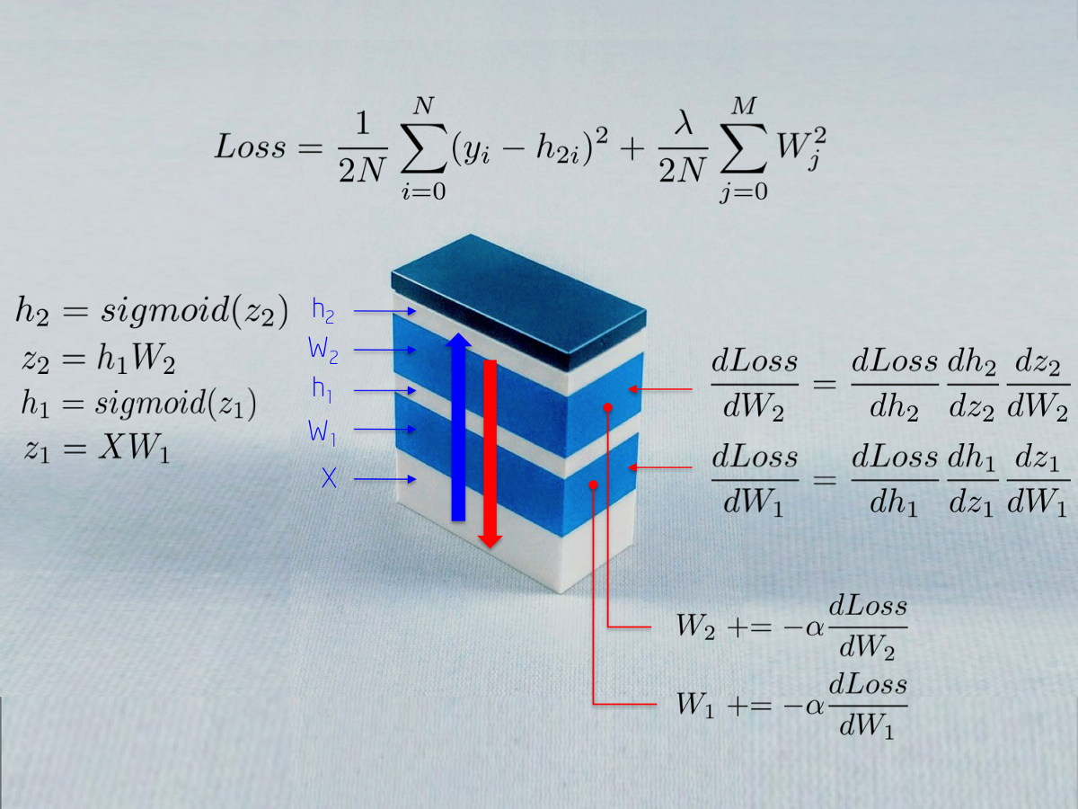 One LEGO at a Time Explaining the Math of how Neural Networks Learn with Implementation from…