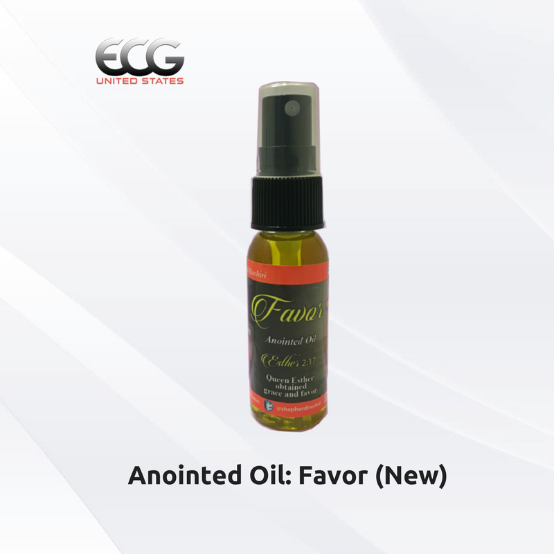 Holy Anointed Oil: Favor (New) - YahWeh Religious Materials - Medium