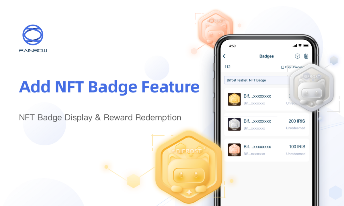 Rainbow Wallet Adds the NFT Badge Feature