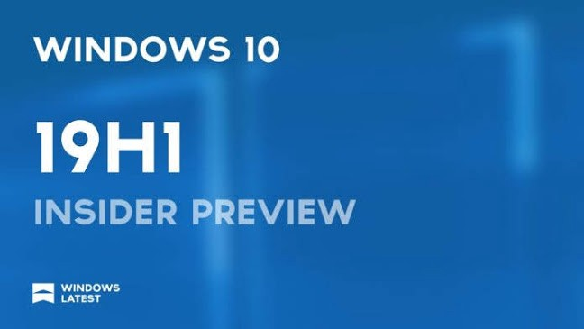 Windows 10 Insider Preview Build 18277 19H1 Released with