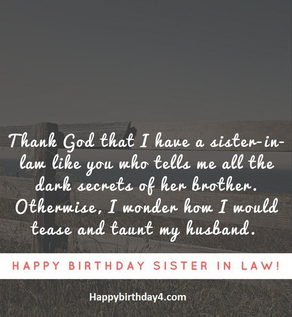 Birthday Wishes For Sister In Law By Happy Birthday Medium