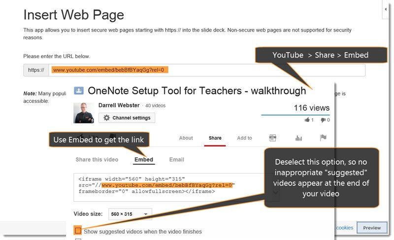 OneNote Setup Tool for Teachers and Office Mix Double-Wammy