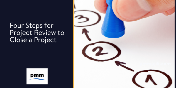 Steps to project closure