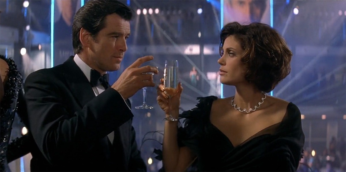 Movie Review Tomorrow Never Dies 1997 By Patrick J Mullen As Vast As Space And As Timeless As Infinity Medium