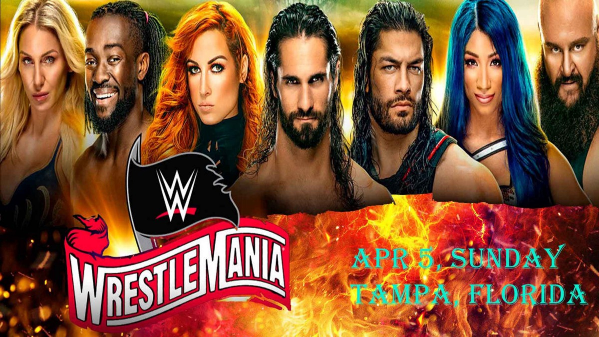 >>>>WWE!!FREE-LIVE!! WrestleMania 36 (Livestream) — FREE Tv Channel>>>>2020