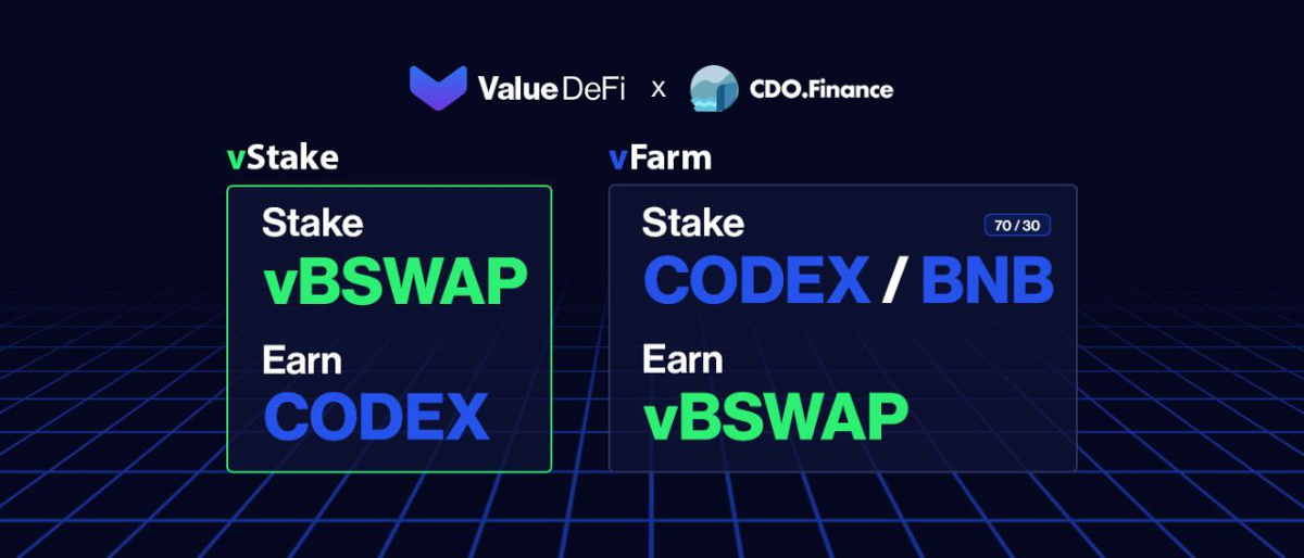 First vStake Pool in Partnership with CDO Finance