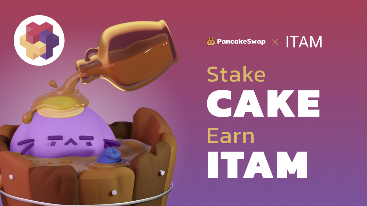 PancakeSwap Welcomes ITAM to Syrup Pool!