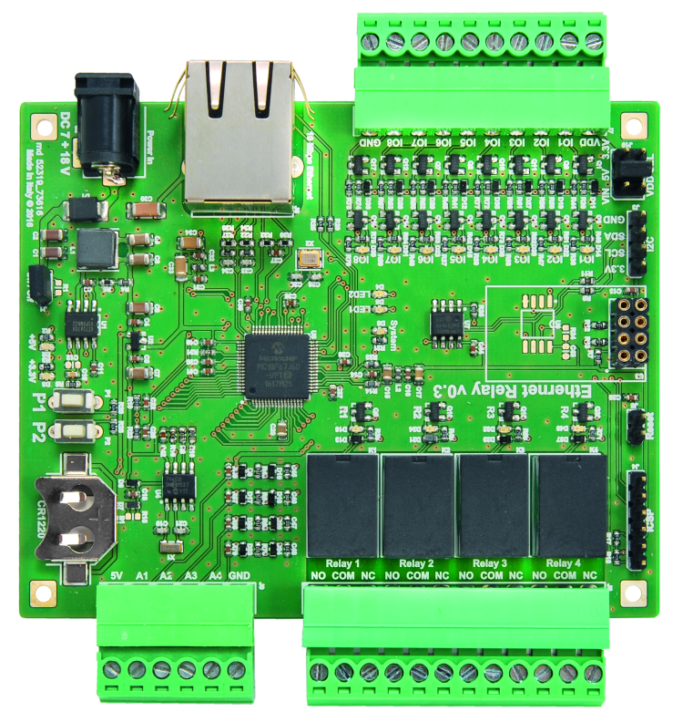 An Ethernet Relay Board for the IoT - Hackster Blog