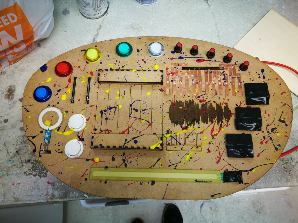 Building a Custom MIDI Controller Out of Components From the Parts Bin