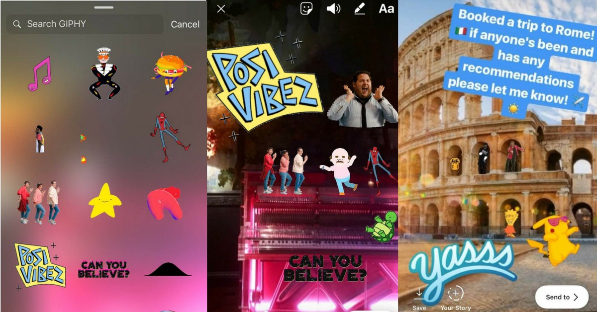 How to use GIFs in your Instagram stories - Ben Hardicre - Medium