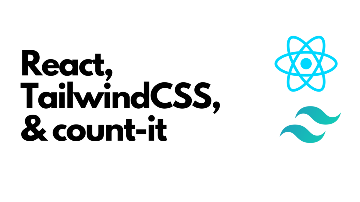 Start Your Project With React and Tailwind CSS