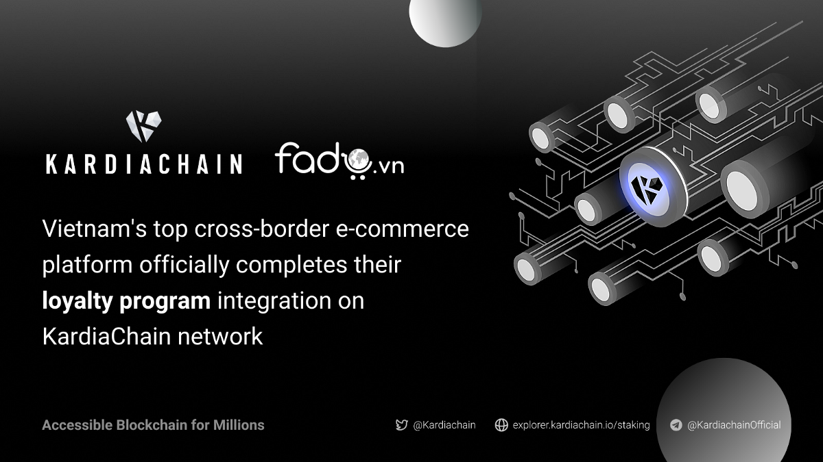 FADO officially completes the integration of their loyalty program on KardiaChain network.
