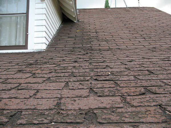 roof damaged caused age