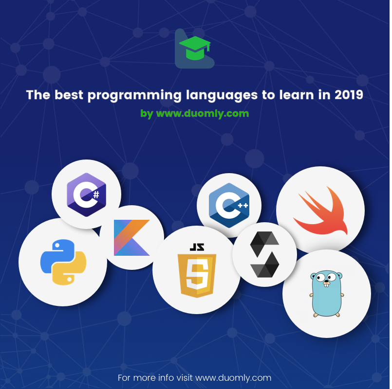 The best programming language to learn in 2019 - Duomly