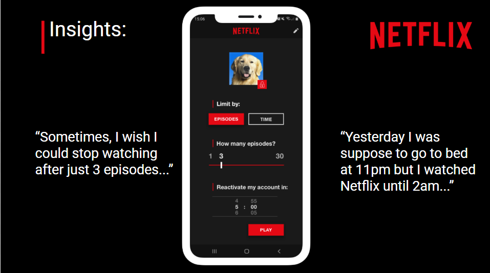 One last episode and I go to bed… — a UX case study