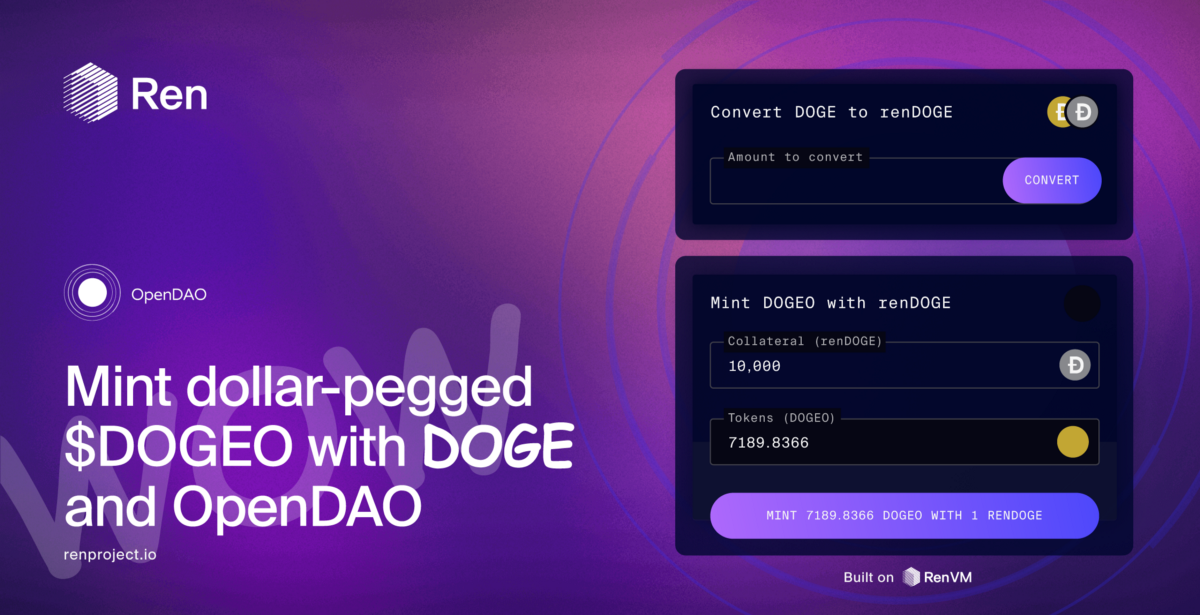OpenDAO & RenVM Bring Dogecoin to Ethereum