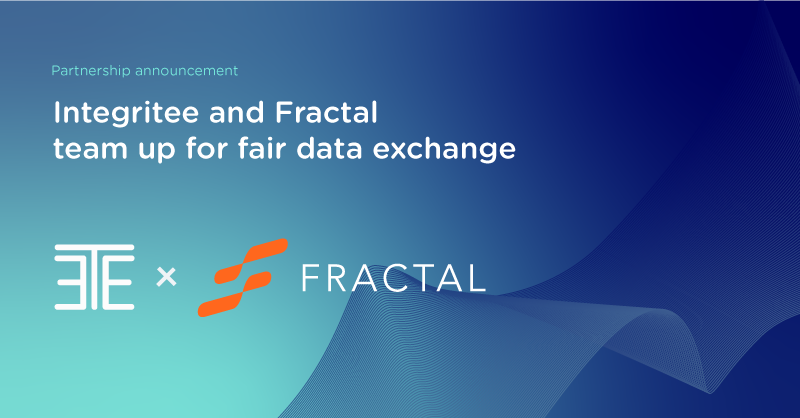 Integritee and Fractal team up for fair data exchange