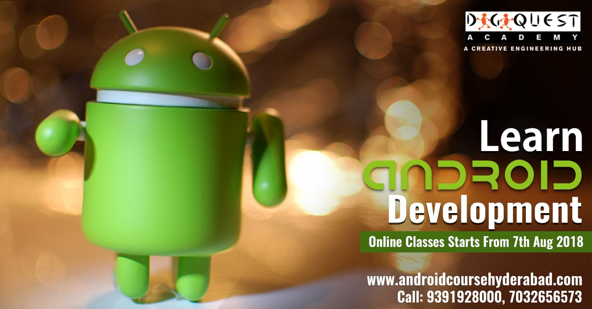 Android App Development Training in Hyderabad | DIGIQUEST