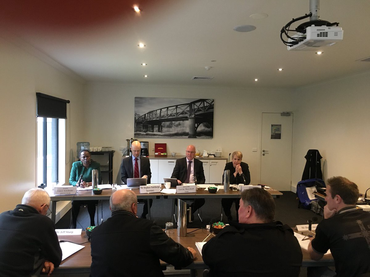Senate inquiry into the work health and safety of workers in the