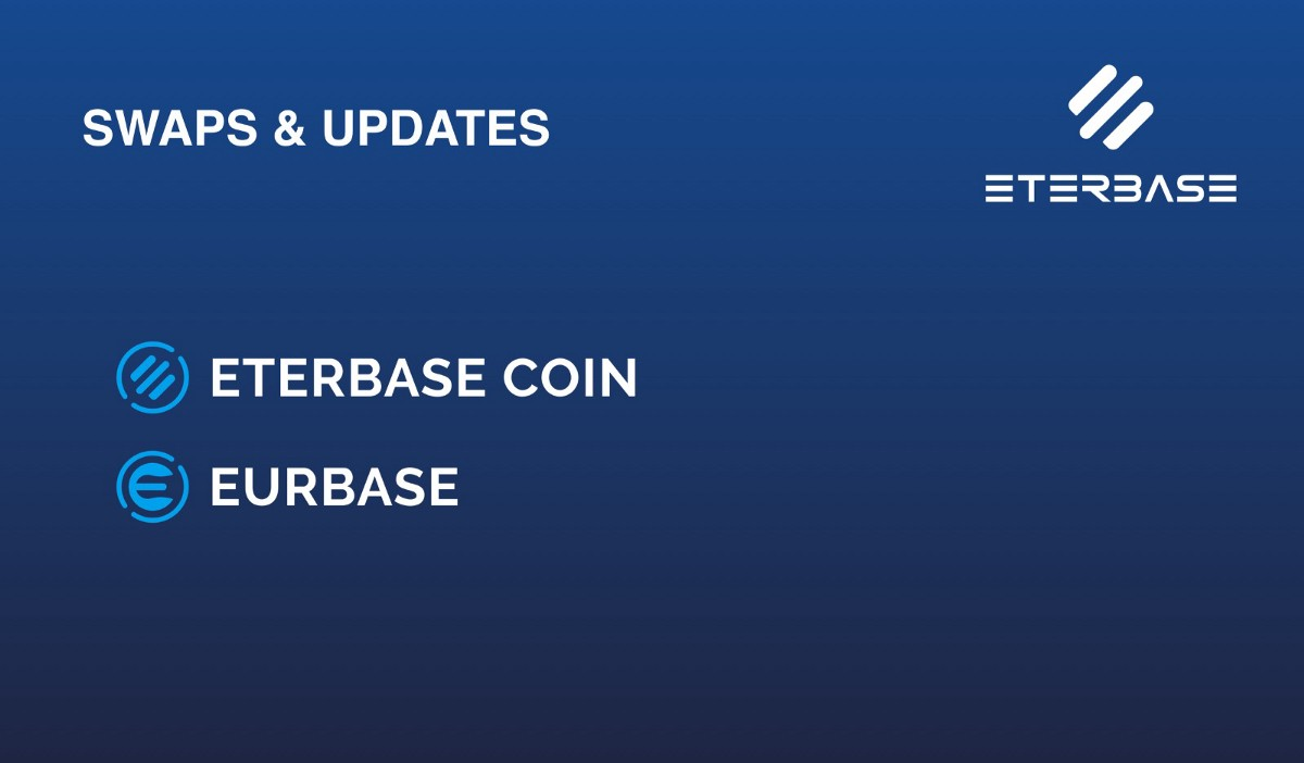 ETERBASE COIN AND EURBASE SWAP
