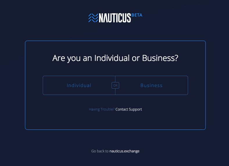 Step by step guide to completing KYC on Nauticus Exchange