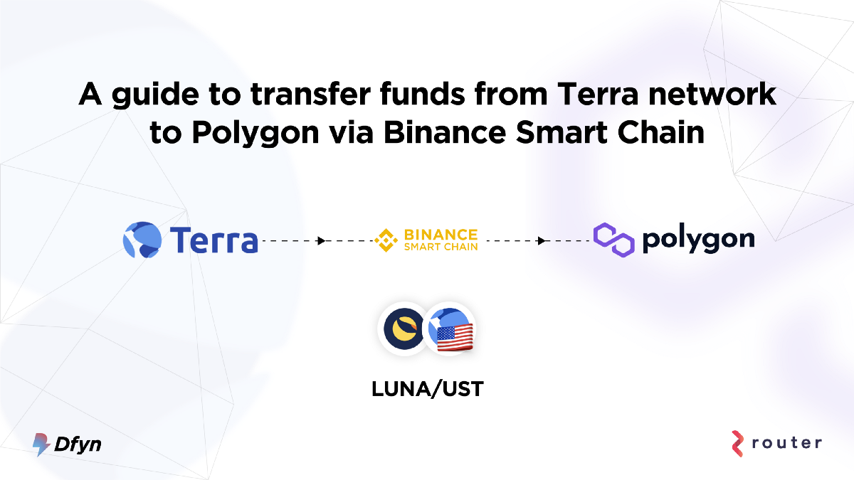 How to Transfer Funds from Terra Network to Polygon—Part 2/2: Via Binance Smart Chain