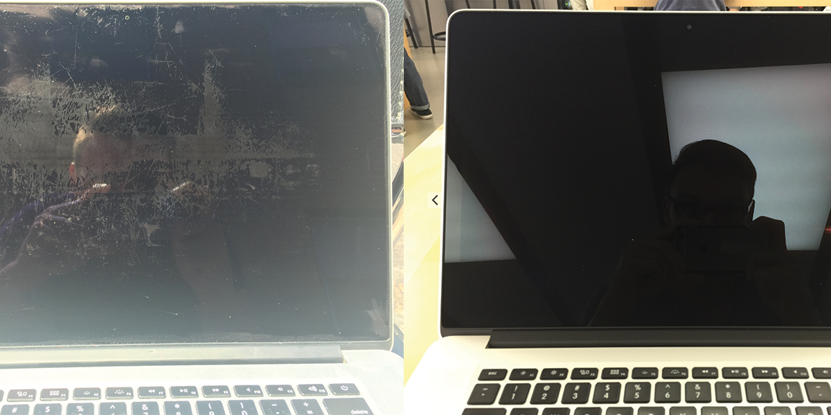 Overcoming #StainGate: Apple replaced my Macbook display