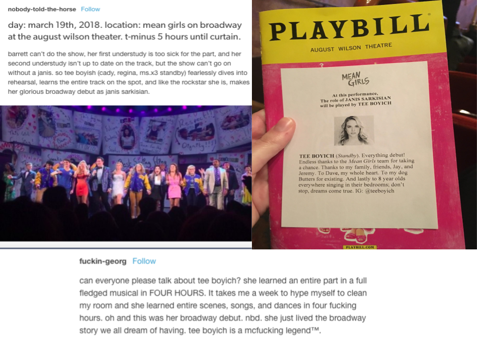 Mean Girls on Broadway' is Still Great (Plus, a Love Letter to Tee