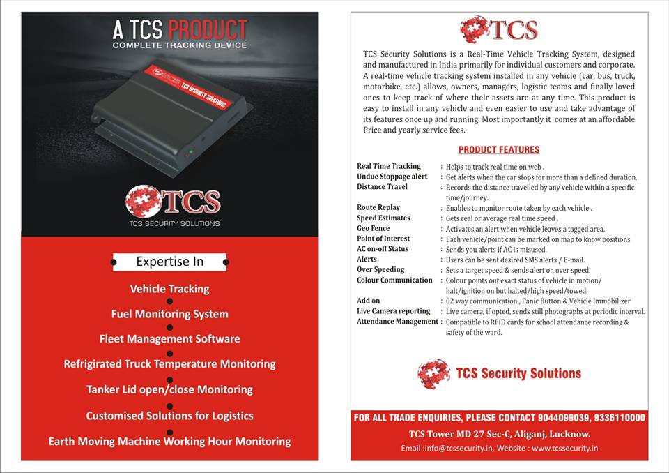 Which is Best GPS Tracking system provider in Lucknow — TCS GPS