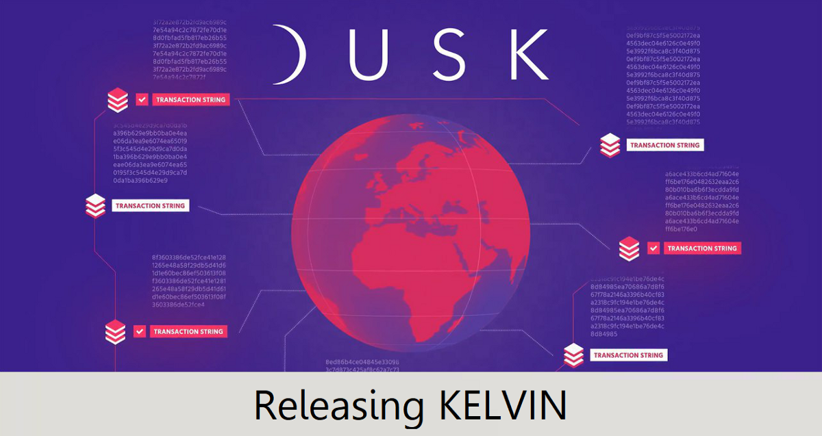 Release of Kelvin—Dusk Network's Merkle-Tree toolkit, Library and Backend