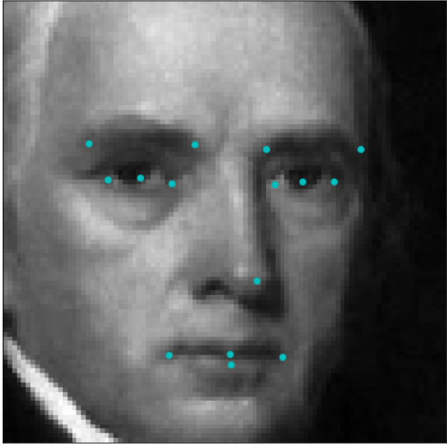 Detecting facial features using Deep Learning - Towards Data Science