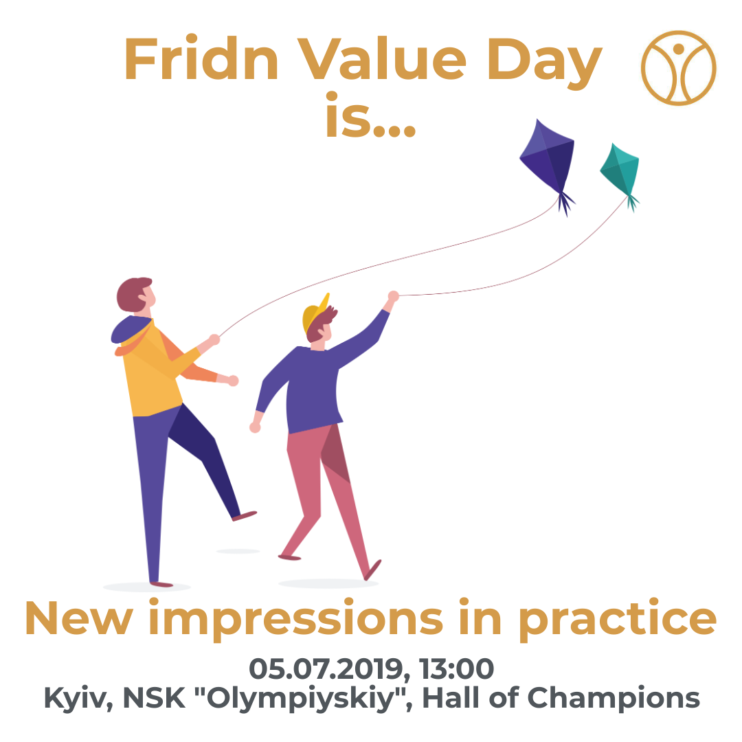 At Fridn Value Day, you can instantly exchange your useful